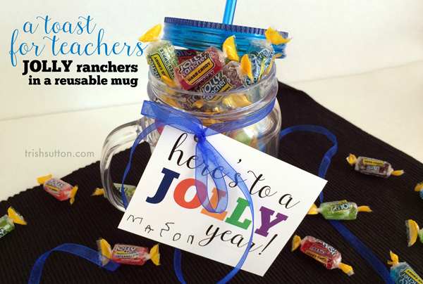 Jolly Toast; Back To School Teacher Gift