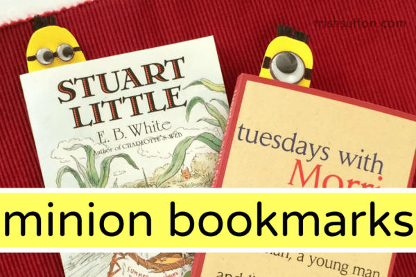Minion Googly Eye Bookmark; trishsutton