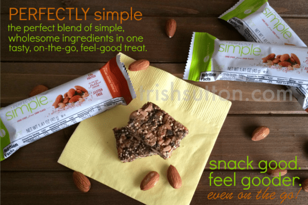 Perfectly Simple. Snack Good. Feel Gooder. Even on the Go. TrishSutton.com