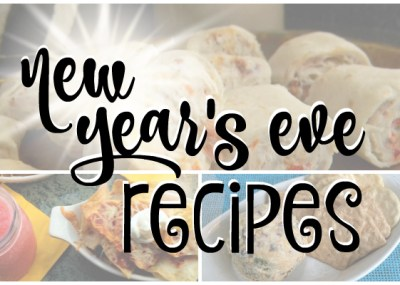 New Year's Eve Party Recipes by TrishSutton.com; 12 party food and appetizer recipes.