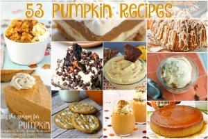 53 Pumpkin Recipes