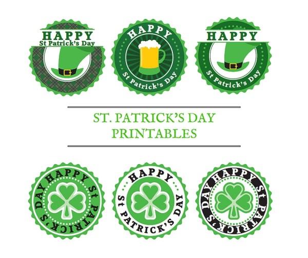 St.Patricks-Day-Labels FreezerLabels.net