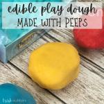 Edible Peeps Play Dough