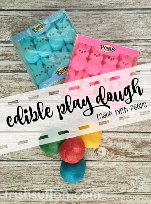 What The Peep? Edible Peeps Play Dough & Gift Card Giveaway