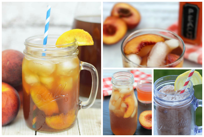 20 Refreshing Iced Tea Recipes; Recipe Round-Up on TrishSutton.com
