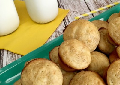 Recipe: Banana Mini-Muffins, TrishSutton.com