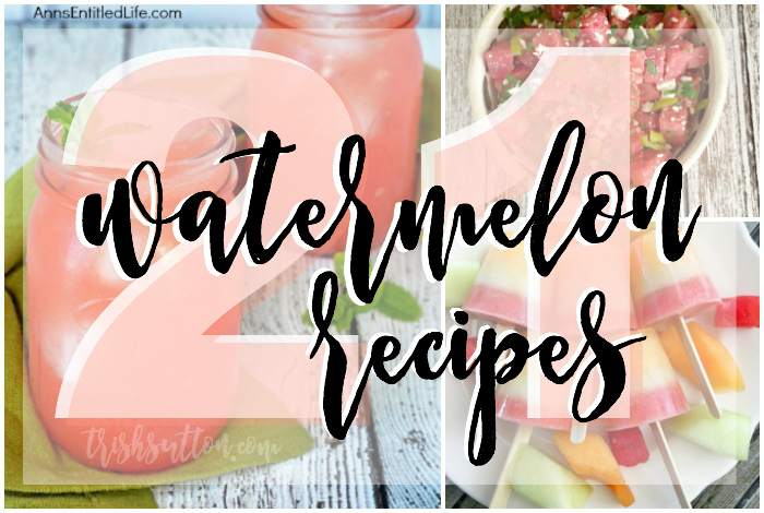 National Watermelon Day; From Drinks to Desserts and from Salads to Soup and Salsa this Watermelon Round-Up has a Watermelon recipe (or 21) for everyone.