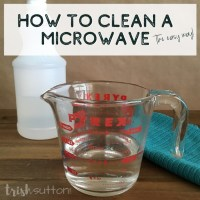How To Clean A Microwave (The Easy Way)