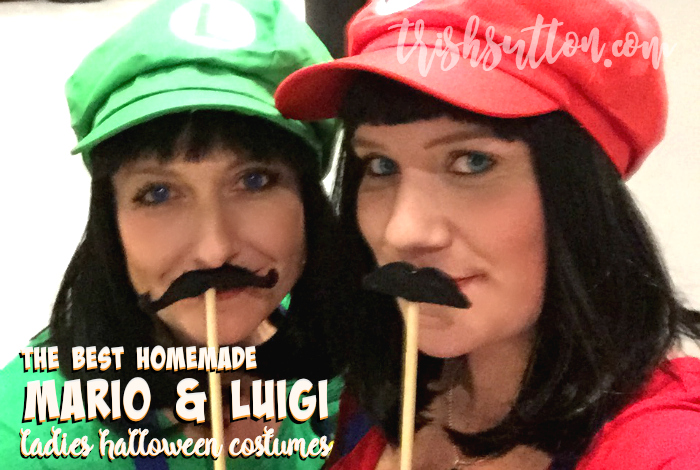 The Best Homemade Mario & Luigi Ladies Halloween Costumes, TrishSutton.com
