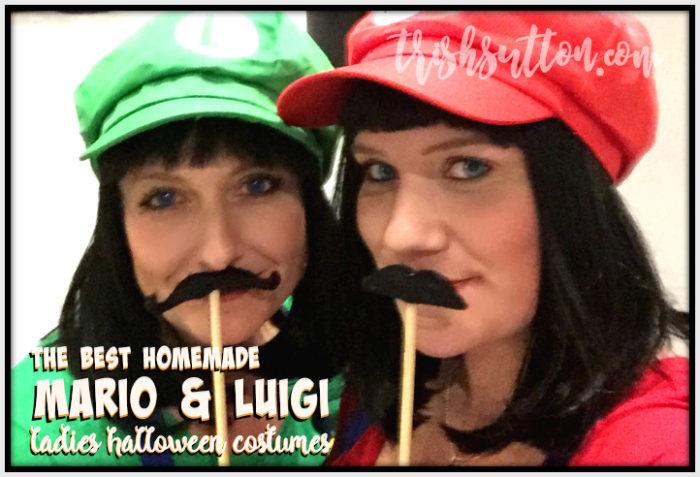 The Best Homemade Mario & Luigi Ladies Halloween Costumes, TrishSutton.com