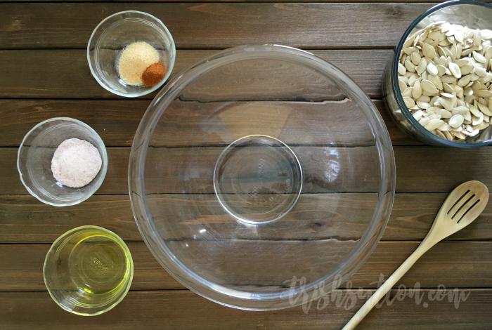 Roasted Pumpkin Seeds Recipe by TrishSutton.com
