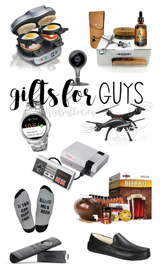 Gift Guide For Him; Christmas Gifts For Guys, 10 Gifts for Men. TrishSutton.com