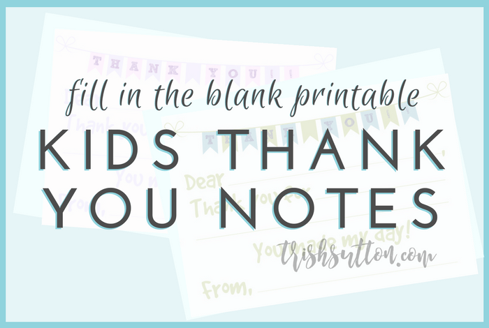 It's just an image of Printable Thank You Notes throughout baby shower