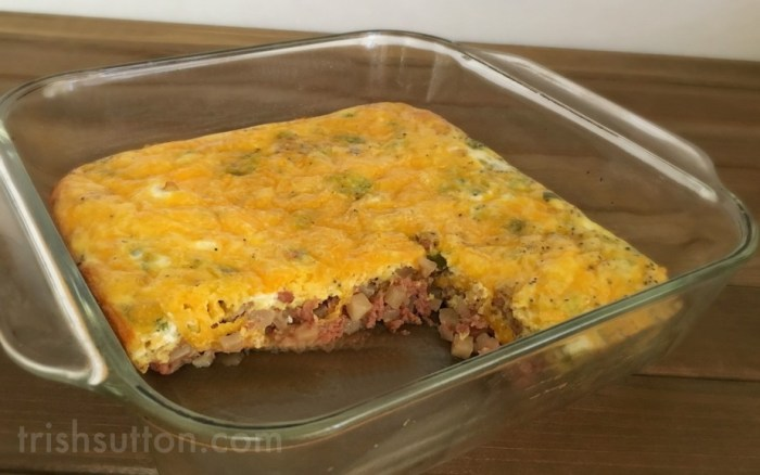 Breakfast Or Brunch Hearty Hash And Egg Bake Recipe #HowDoYouHash