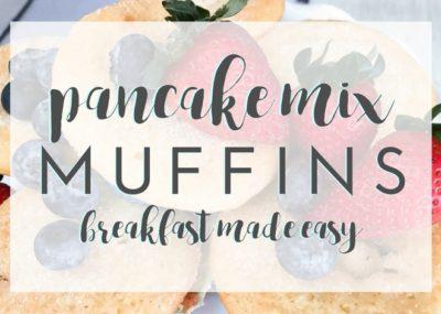 Simple Pancake Mix Muffins Recipe