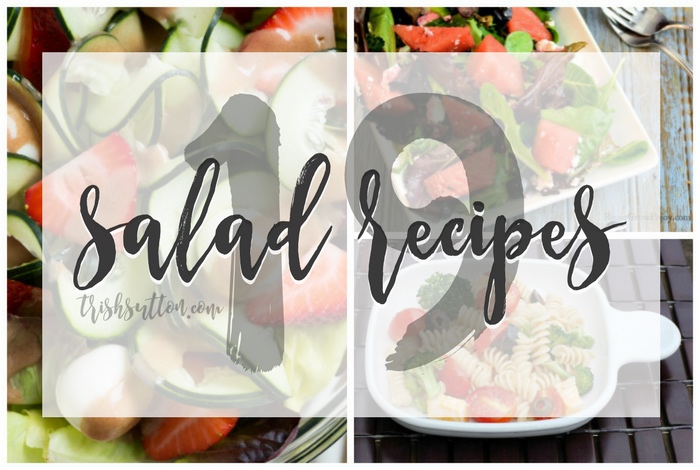 Salad Recipes; 19 Refreshing Summer Sides, TrishSutton.com