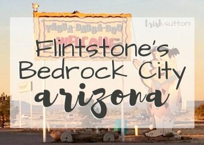 Flintstone's Bedrock City Arizona; TrishSutton.com