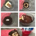 Edible Cookie Dough Bites; Chocolate Dipped Eggless Recipe, TrishSutton.com