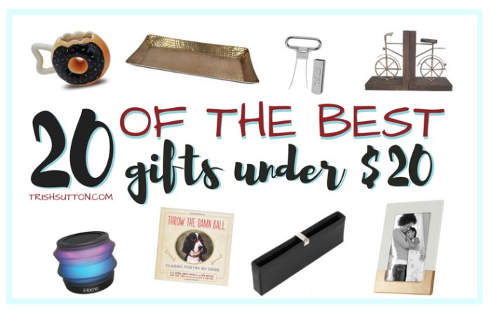 Gift Guide 20 Gifts Under 20 The Best Stocking Stuffers