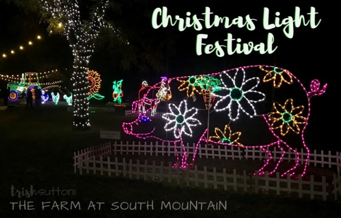 Christmas Light Festival The Farm Phoenix Arizona