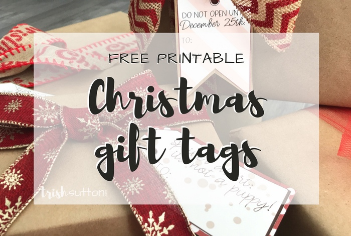 save time and money while adding a little fun to gift wrapping with my free printable