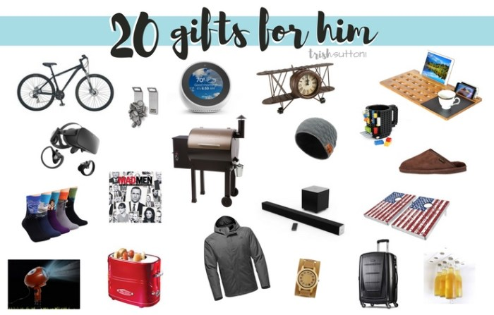 20 Gift Ideas For Guys From $14 To $700