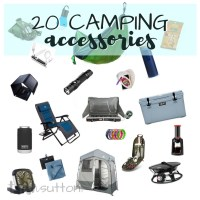 Camping Accessories | 20 Awesome Outdoor Necessities and Niceties