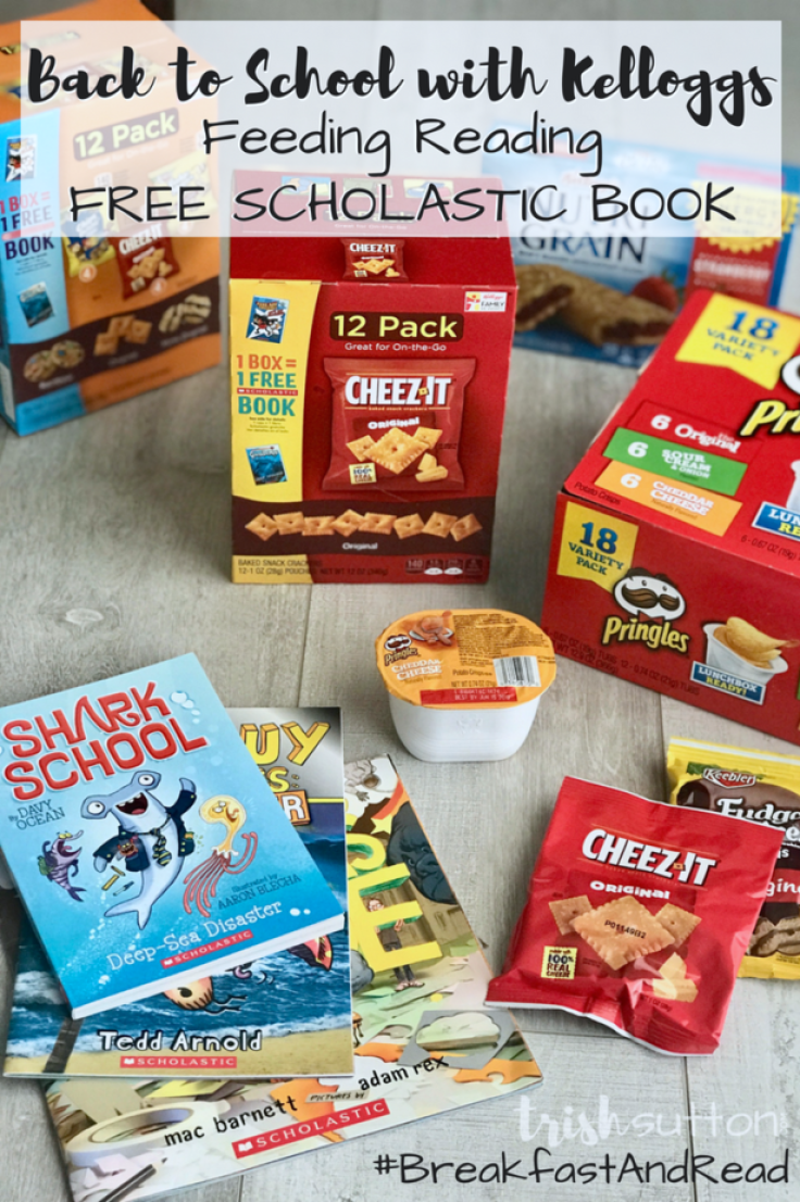 Back to School Feeding Reading | Kellogg's and Scholastic free book program 1 Book = 1 Box promotion ends 09/30/18. (AD) #BreakfastAndRead #ad