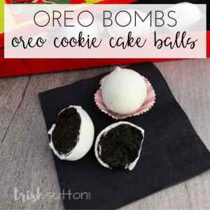 Oreo Cookie Cake Balls Recipe | Oreo Bombs