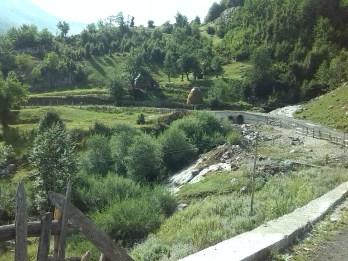 View along Lepusche valley walk