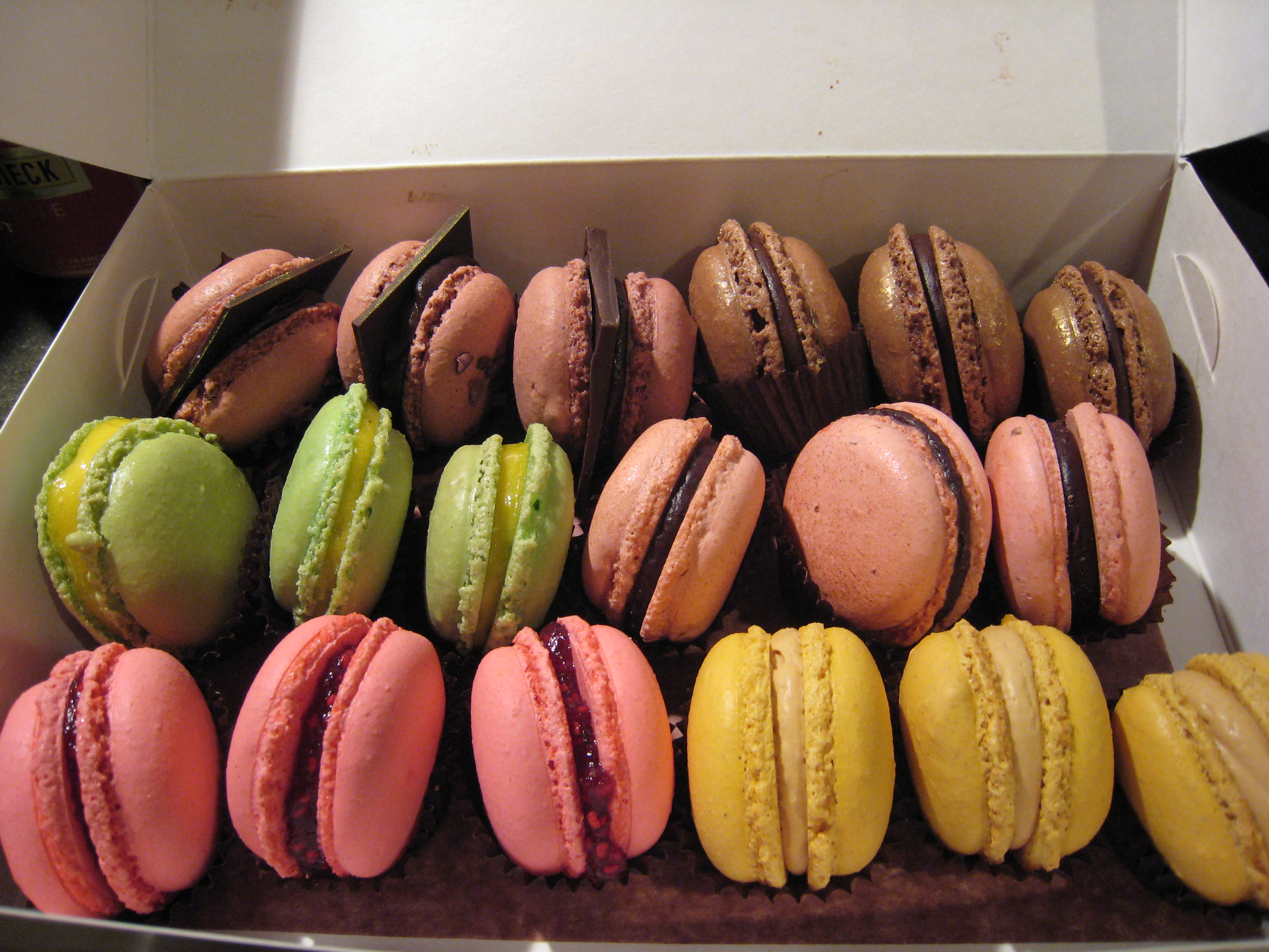 Macarons from Savour School