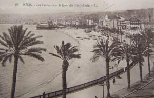 Voeux de Francis Carco 1926 Nice r