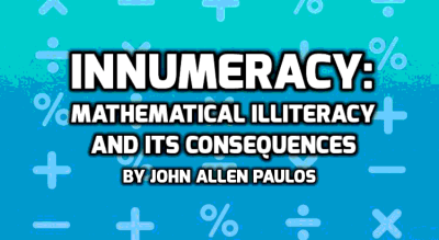 """Innumeracy,"" by John Allen Paulos"