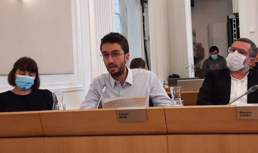 Mon intervention lors de débat sur le rapport du GIEC en conseil municipal