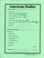 American Studies: Basic Information