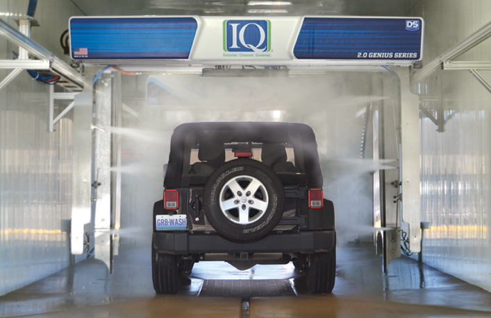 IQ Touch Free In Bay Automatic