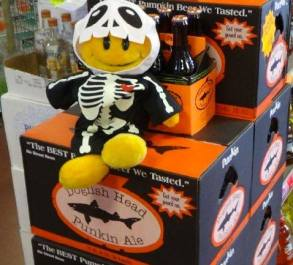 Dogfish Head Punkin ale at TriState Liquors in Delaware
