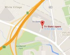 Tri-State Liquors location