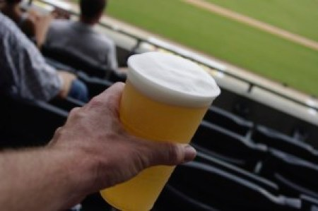 There's nothing more American than Baseball and Beer