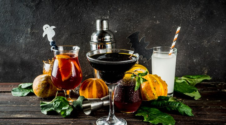 spooky drink Halloween recipes