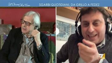 """Covid d'estate, David Parenzo contro Vittorio Sgarbi: """"Il virus sparirà quando saremo tutti …"""