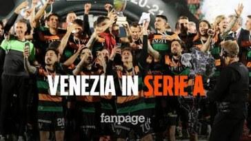 Il Venezia torna in Serie A dopo 19 anni, promossi dopo l'1-1 contro il Cittadella