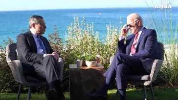 "Al G7 incontro bilaterale con Joe Biden, Draghi: ""Piena sintonia"""