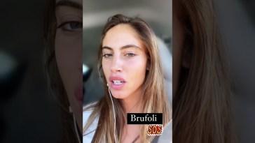 Beatrice Marchetti emergenza brufoli #isola