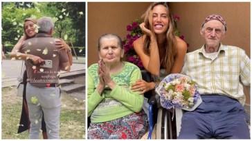 Beatrice Marchetti torna dai suoi genitori e i nonni dopo mesi #isola