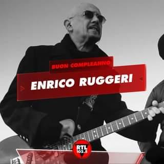 Buon compleanno Enrico Ruggeri #buoncompleanno #rtl1025 #EnricoRuggeri