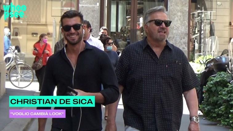 """Christian De Sica: """"voglio cambià look"""""""