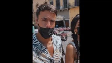 Giulia Salemi e Pierpaolo Pretelli gita a Firenze #prelemi