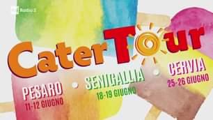 Il #CaterTour in diretta dal Comune di Pesaro, con Filippo Solibello, Claudia de Lillo e …