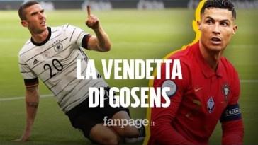 """La vendetta di Gosens: """"Cristiano Ronaldo? Non gli ho chiesto la maglia"""""""